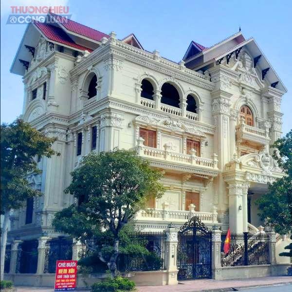 Huyện Duy Tiên (Hà Nam): Ngắm những dinh thự bề thế tại KĐT mới thị trấn Hòa Mạc