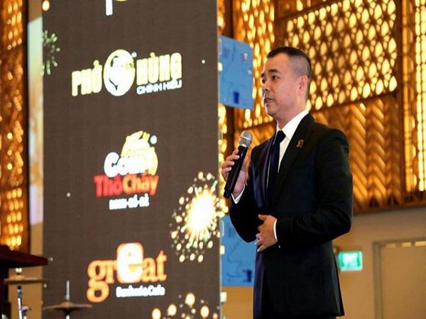 Ông Huy Nhật, Chủ tịch Hội đồng Quản trị kiêm Tổng Giám đốc của Huy Việt Nam.