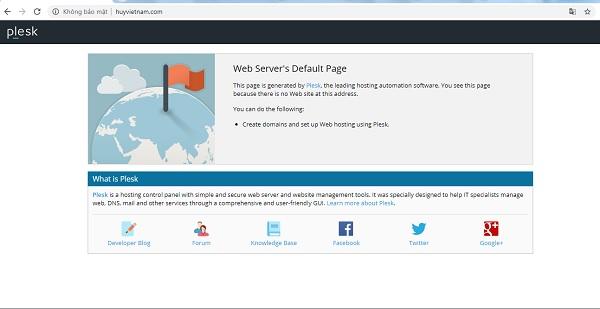 Website của huyvietnam cũng bị