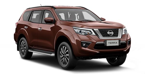 Nissan Terra giảm 210 triệu đồng