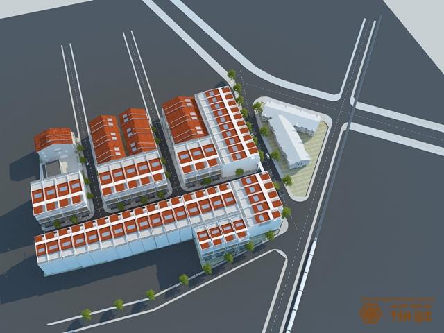 Phối cảnh dự án Khu đô thị Lucky Ari, dự án hiếm hoi nằm ngay trung tâm thành phố hội đủ nhiều yếu tố về vị trí, thiết kế, tiện ích, tiềm năng gia tăng giá trị…