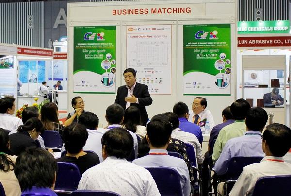 Trong khuôn khổ Triển lãm, sẽ có các buổi tọa đàm giao lưu giữa cơ quan quản lý, hiệp hội ngành hàng với các doanh nghiệp