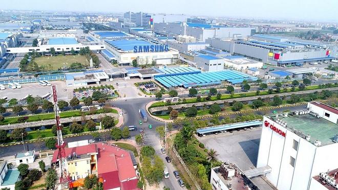 Hệ thống hạ tầng Bắc Ninh hoàn thiện và thu hút được nhiều đầu tư nước ngoài.