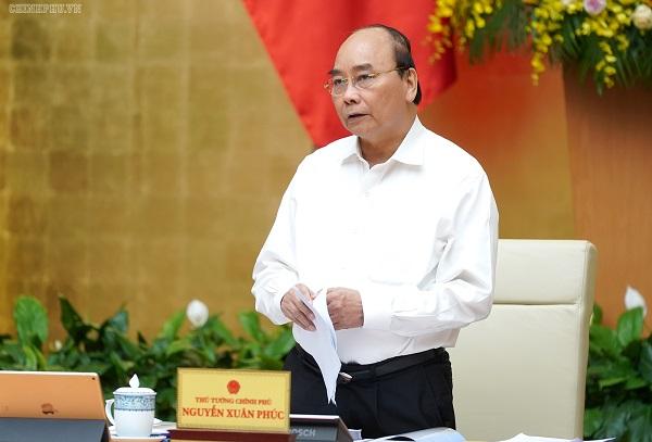 Thủ tướng yêu cầu cần quyết tâm hoàn thành tất cả các chỉ tiêu trong năm 2019, tạo dư địa chính sách cho năm tới. Ảnh: VGP/Quang Hiếu