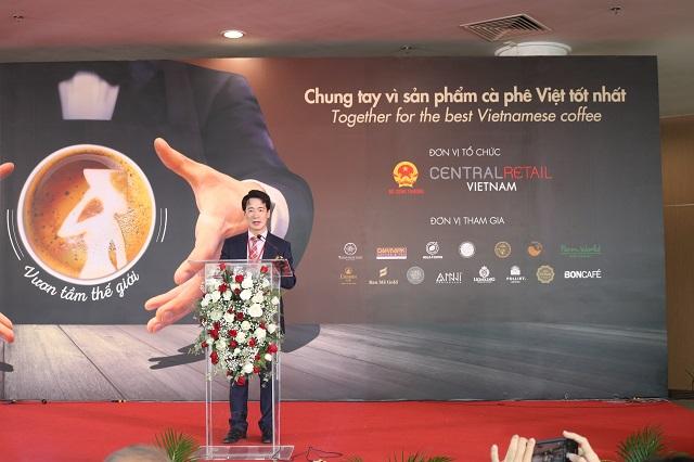 Ông Tạ Hoàng Linh, đại diện Bộ Công Thương phát biểu khai mạc cuộc thi
