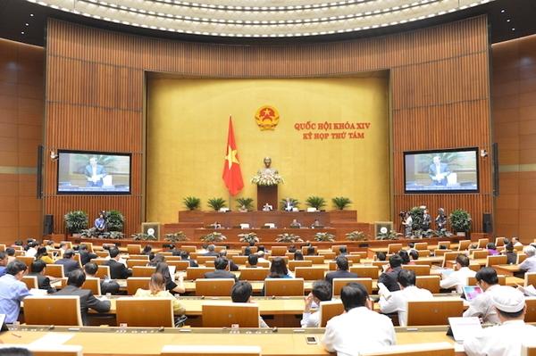 Kỳ họp 8, Quốc hội khoá 14