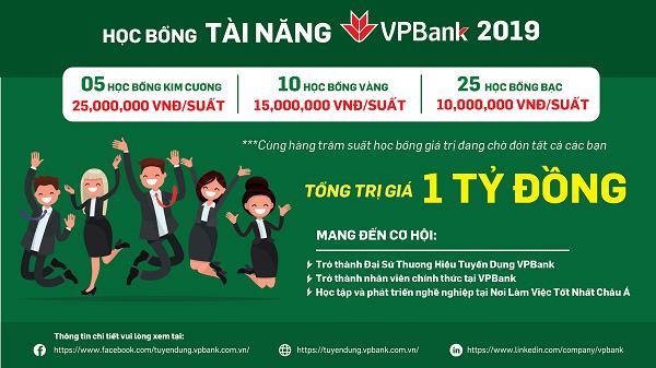 Khởi động Quỹ học bổng Tài Năng VPBank 2019Khởi động Quỹ học bổng Tài Năng VPBank 2019