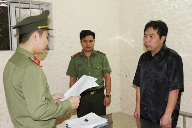 Nguyễn Minh Cầm tại cơ qua điều tra