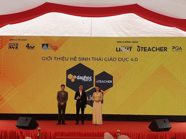 CEO Nguyễn Huy Du và cộng sự