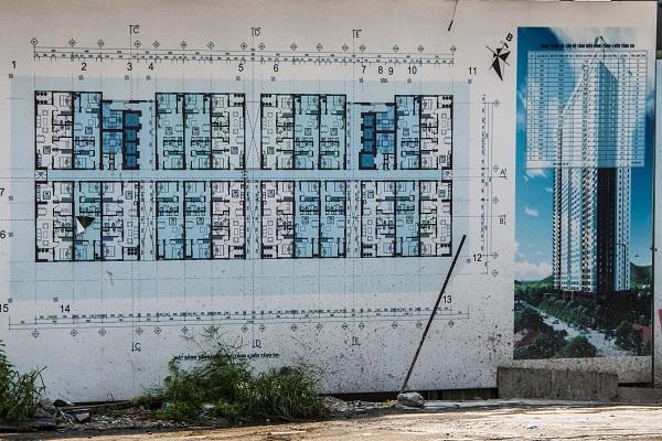 """""""Bảng thông kê căn hộ tầng điển hình (tầng 4 đến tầng 38): Mỗi tầng có 22 căn hộ, diện tích từ 53,3  m2 đến 75,8 m2."""