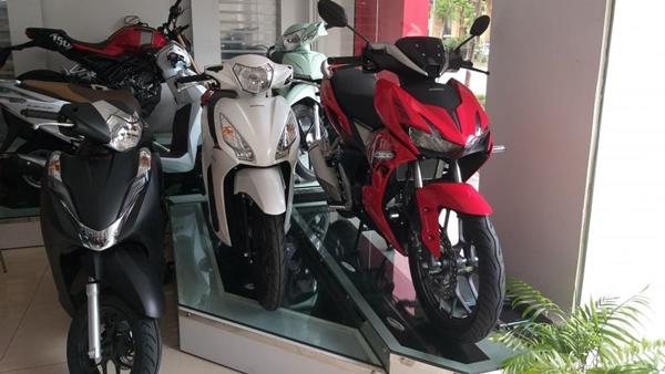Các dòng xe số của Honda đều bán thấp hơn mức đề xuất từ hãng
