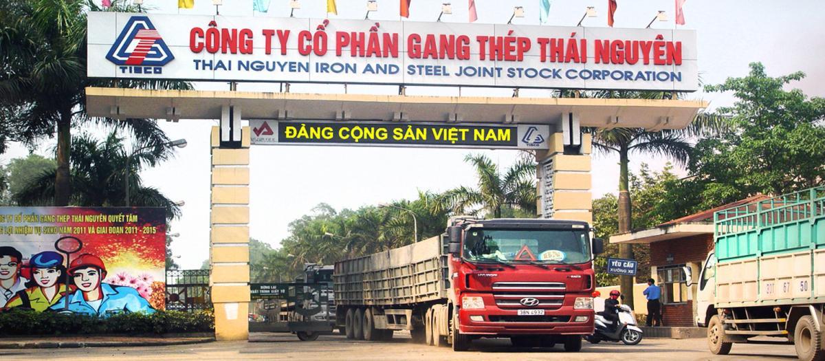 Công ty Cổ phần Gang thép Thái Nguyên có truyền thống trải qua trên 60 năm xây dựng và phát triển