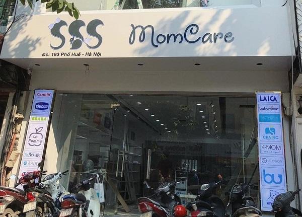 Cửa hàng chuyên bán đồ cho mẹ và bé SSS Momcare bị kiểm tra và tịch thu nhiều hàng hóa nghi nhập lậu.