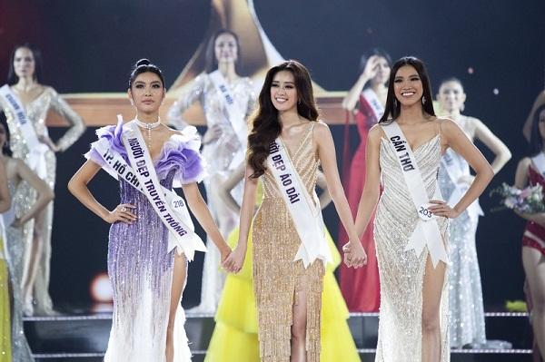 Top 3 Hoa hậu Hoàn vũ Việt Nam 2019: Thúy Vân, Khánh Vân và Kim Duyên