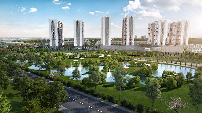 Sở hữu nhiều ưu thế, Him Lam Green Park là dự án