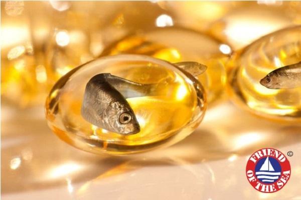 Vỏ bọc viên dầu Omega-3 của Oriflame đặc biệt làm từ gelatin da cá