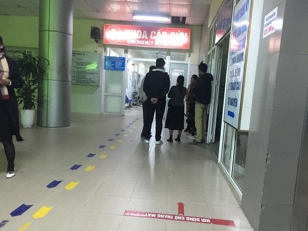 Những người bị thương được đưa đi cấp cứu tại bệnh viện