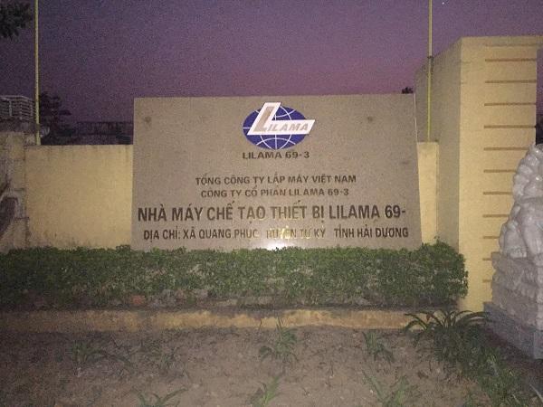 Nhà máy chế tạo thiết bị Lilama 69- 3 nơi xảy ra vụ việc