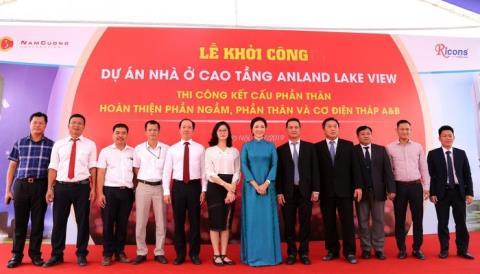 Anland Lakeview là một trong những dự án bất động sản cao cấp của Tập đoàn Nam Cường