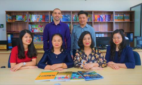 Đội ngũ chuyên gia giáo dục chuyên môn cao của Vic Group