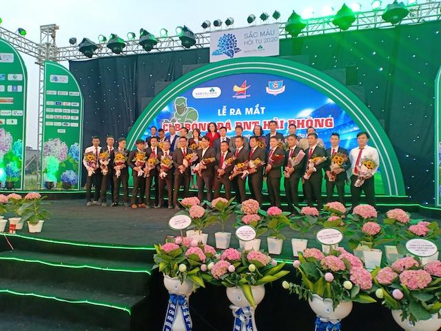 Ra mắt Câu lạc bộ bóng đá doanh nghiệp trẻ Hải Phòng
