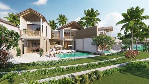 Villa phong cách làng biển Sun Premier Village Kem Beach Resort