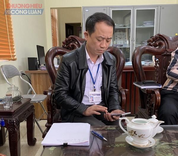 Ông Nguyễn Bá Canh Chủ tịch xã UBND xã Long Châu