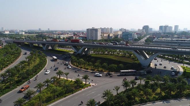 Sự phát triển mạnh mẽ về hạ tầng giao thông ở khu vực Long Biên