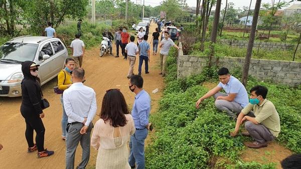 Việc giá đất tại xã Đồng Trúc (huyện Thạch Thất, Hà Nội) đang bị cò