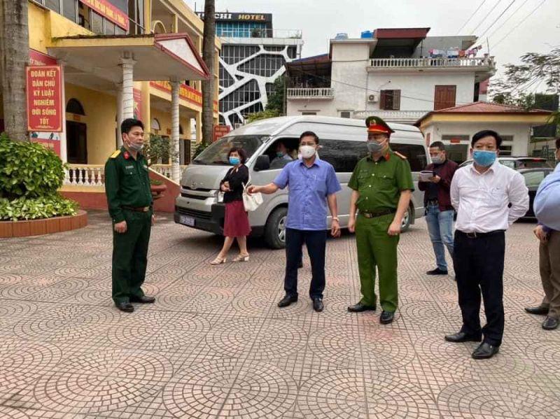 Chủ tịch UBND TP. Hải Phòng kiểm tra đột xuất tại Ban chỉ huy quân sự huyện Tiên Lãng
