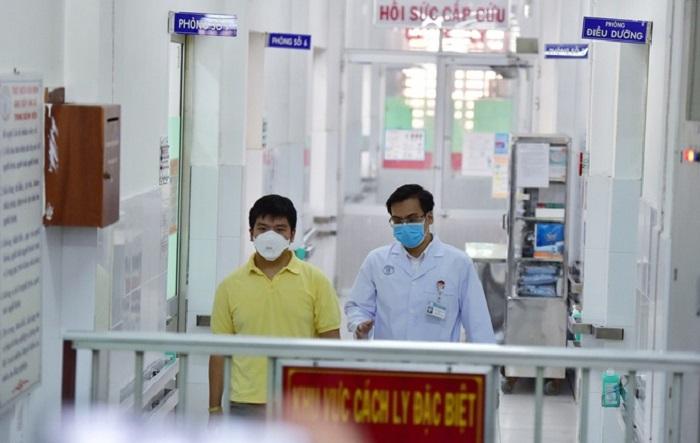 Bệnh viện Chợ Rẫy là nơi điều trị thành công cho hai cha con người Trung Quốc mắc Covid-19.