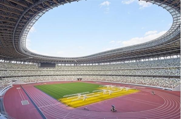 Sân vận động mới được xây dựng phục vụ Olympic Tokyo 2020 tại Nhật Bản (Ảnh: Japan Sport Counci)