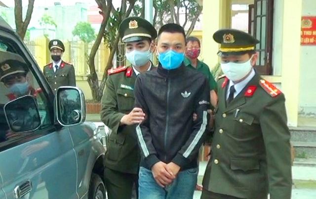 Cơ quan An ninh điều tra Công an tỉnh Thanh Hóa thi hành Lệnh bắt Trần Công Hạnh