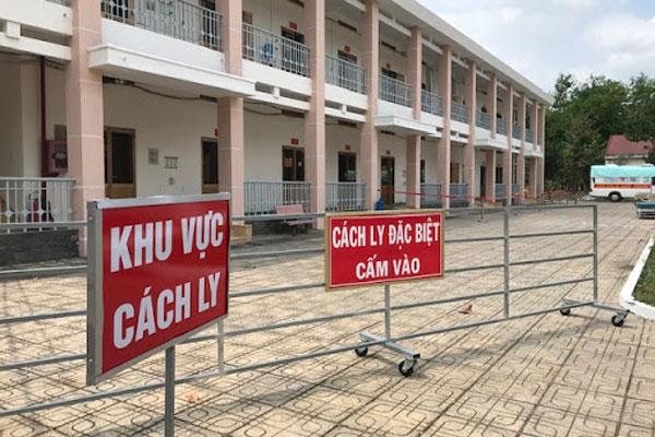 Khu cách ly tập trung tại khu quân đội ở làng ĐHQG TP. HCM