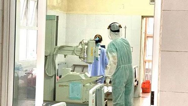 Bệnh nhân số 50 đang điều trị tại Bệnh viện số 2 ở Quảng Ninh