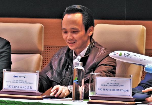 Ông Trịnh Văn Quyết hiện nay vẫn là cổ đông lớn nhất của FLC Faros, cổ đông lớn nhất và Chủ tịch HĐQT của Tập đoàn FLC, Chủ tịch CTCP Hàng không Tre Việt (Bamboo Airways)