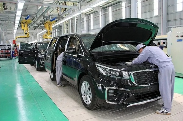 Thaco Trường Hải dẫn đầu thị trường ô tô Việt Nam trong tháng 2/2020