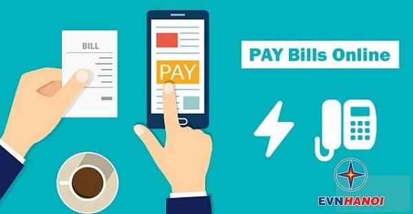 EVNHANOI đã áp dụng nhiều phương thức thanh toán trực tuyến