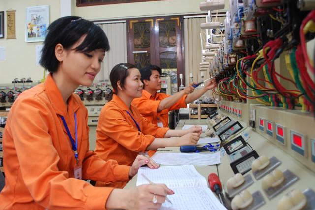 Phòng kiểm định công tơ tại Công ty Điện lực Nghệ An