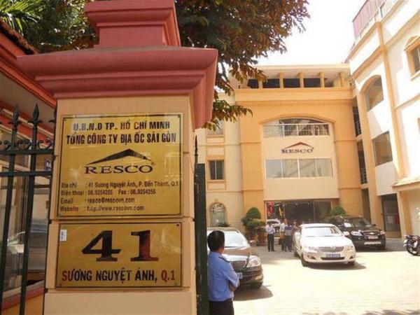 Trụ sở Tổng công ty Địa ốc Sài Gòn – TNHH MTV