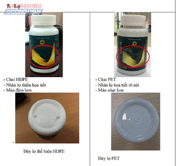 Đặc điểm nhận diện sản phẩm Thực phẩm bảo vệ sức khỏe do Medistar sản xuất và giảm cân L-Star đang bán trên thị trường
