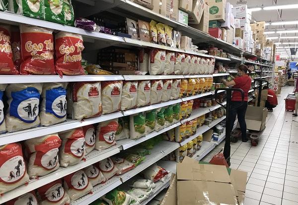 Satra, VinMart, Bách Hoá Xanh giảm giá gạo