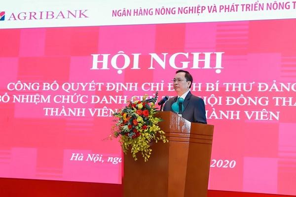 Ông Đào Minh Tú - Ủy viên Ban cán sự Đảng, Phó Thống đốc thường trực Ngân hàng Nhà nước Việt Nam phát biểu tại Hội nghị