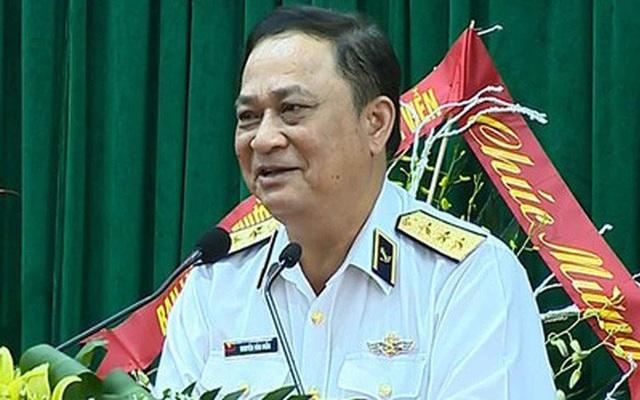 Đô đốc Hải quân Nguyễn Văn Hiến - nguyên Thứ trưởng Bộ Quốc phòng
