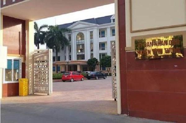 Vĩnh Tường (Vĩnh Phúc) nơi xảy ra vụ việc Thanh tra Bộ Xây dựng
