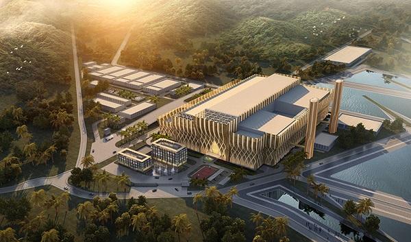 Phối cảnh Dự án nhà máy điện rác Sóc Sơn