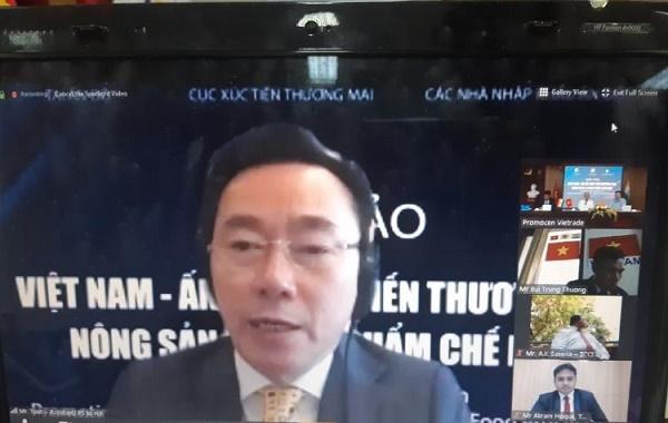 Đại sứ Việt Nam tại Ấn Độ Phạm Sanh Châu