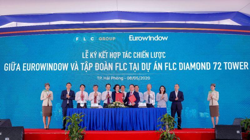 Eurowindow và Tập đoàn FLC ký kết hợp tác chiến lược tại dự án FLC Diamond 72 Tower