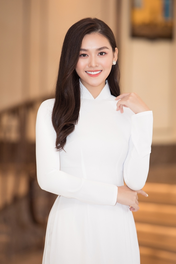 Top 8 Hoa hậu Quốc tế 2019 – Nguyễn Tường San là gương mặt quen thuộc của các sự kiện giải trí, thời trang