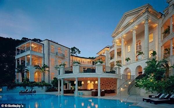 Bất động sản của Rihanna tại quê nhà Barbados